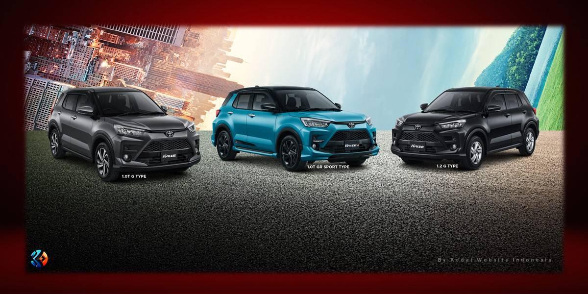 All New Raize GR Sport Type
